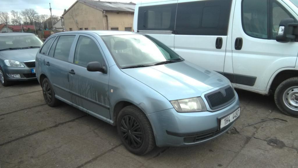 Škoda Fabia Combi 1.2 12V AZQ, 2003